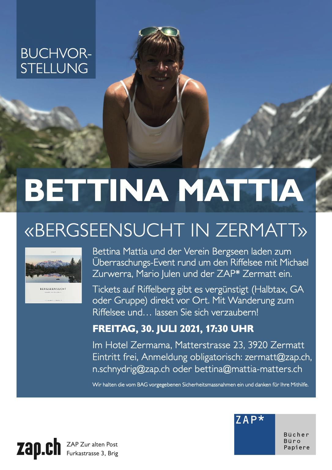 Bergseensucht LIVE in Zermatt
